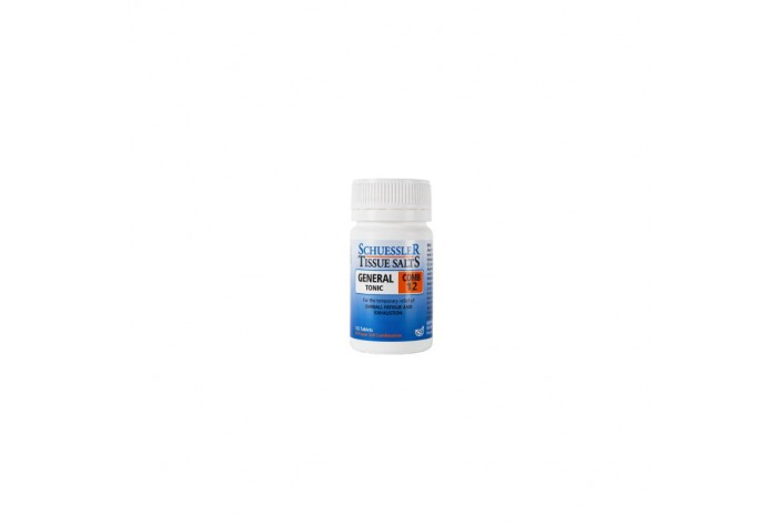 SCHUESSLER TISSUE SALT, General Tonic (Comb 12)